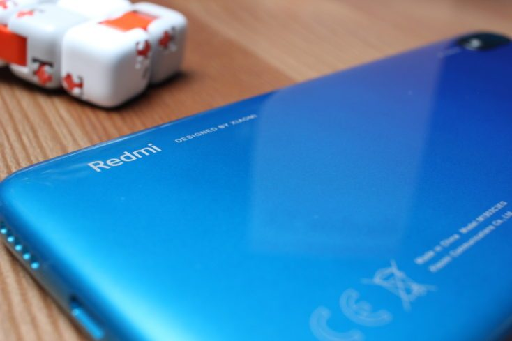 Redmi 7A Smartphone back Redmi lettering