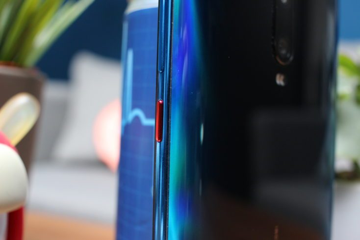 Redmi K20 Pro Button Red