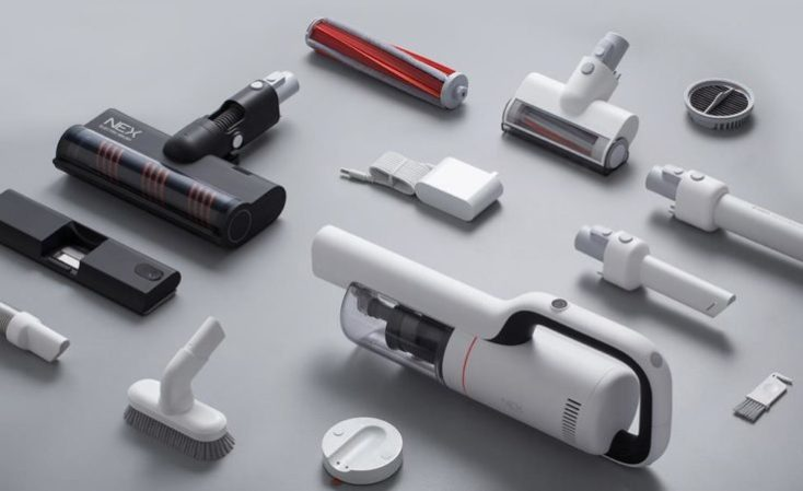 Roidmi NEX Battery Vacuum Cleaner Scope of Delivery