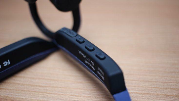 VocalSkull Beyond 5 Bone Conduction Headset Buttons