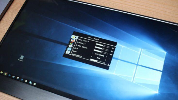 WIMAXIT 15.6 Inch USB-C Monitor Settings