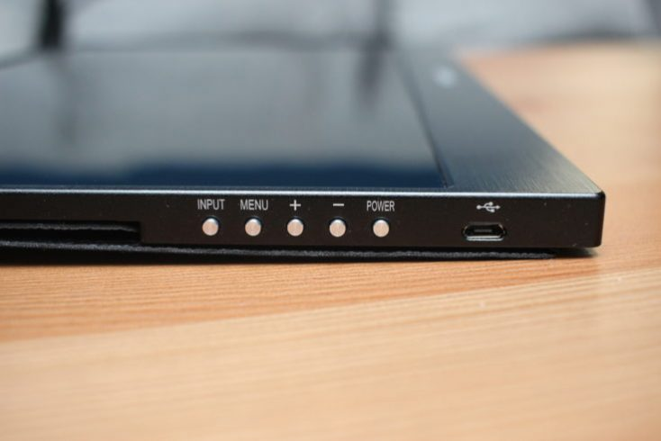 WIMAXIT 15.6 inch USB-C Monitor Buttons