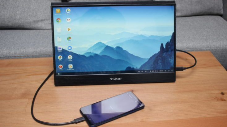WIMAXIT 15.6 inch touchscreen