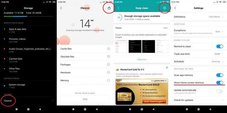Xiaomi Redmi 7A Activate RAM Jet