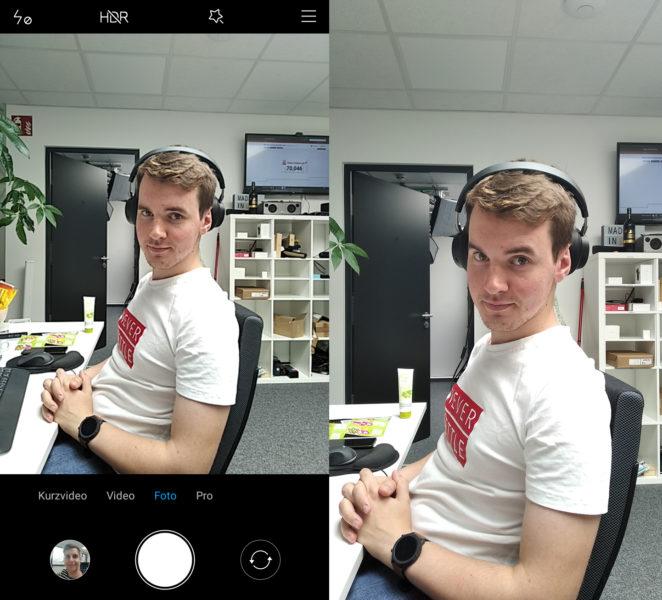 Xiaomi Redmi 7A Camera App Comparison Photo