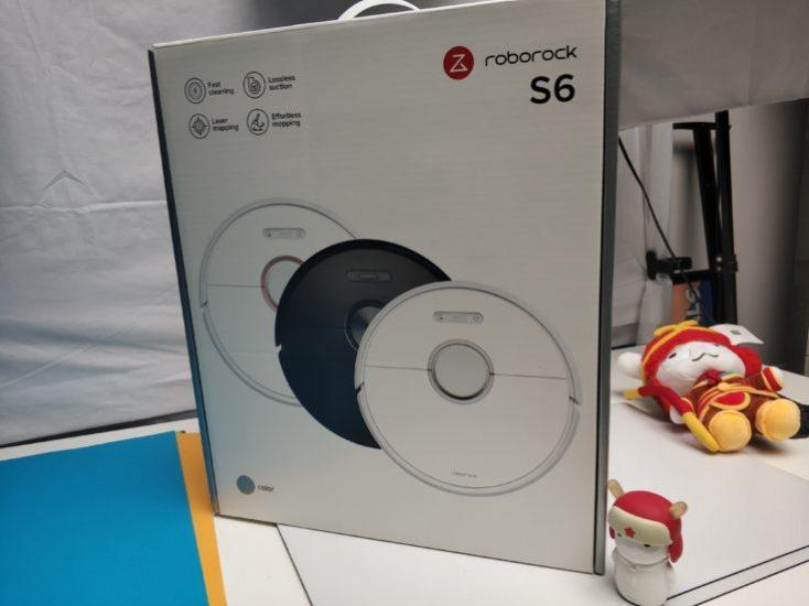 Xiaomi RoboRock S6 vacuum robot Packaging