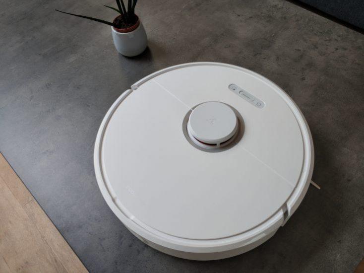 Xiaomi Roborock S6 vacuum robot Design Optics