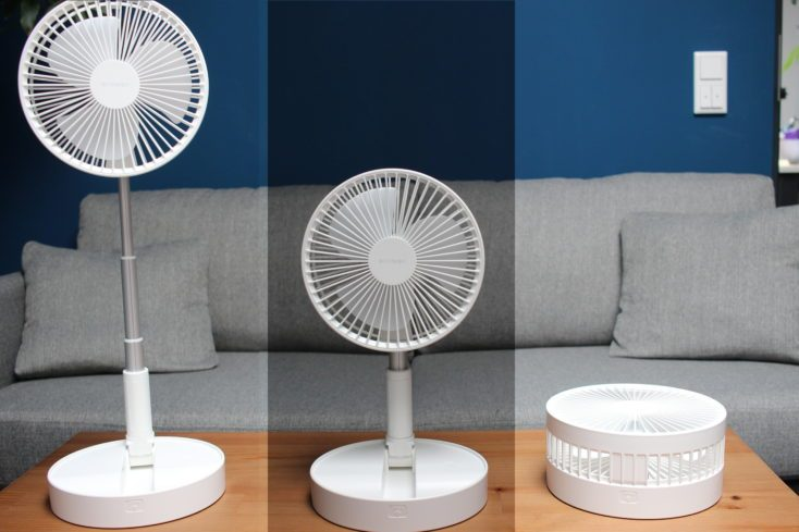 BlitzWolf BW-FUN1 Fan different sizes