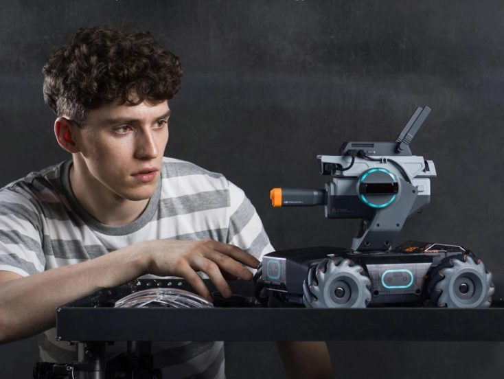DJI Robomaster S1 Programmable Robot side
