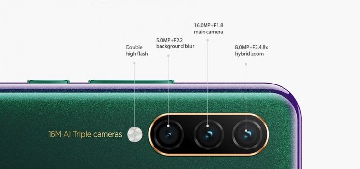 Lenovo Z6 Lite Triple camera