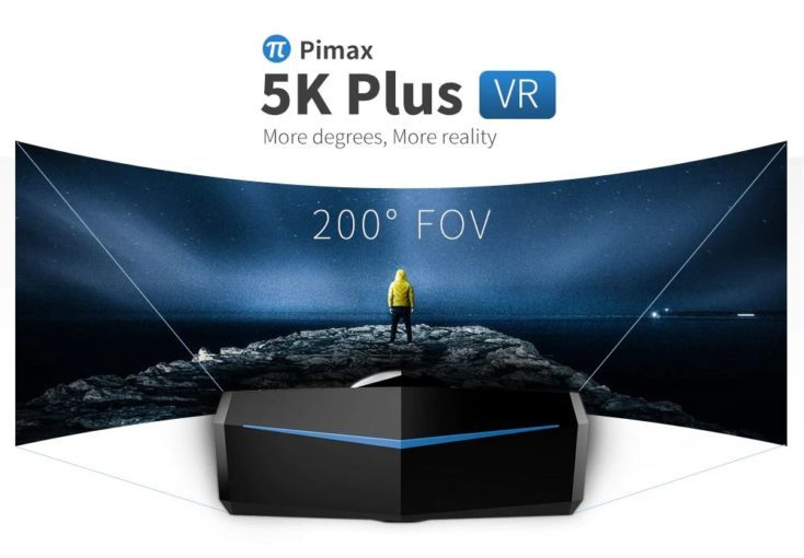 PIMAX 5K VR glasses