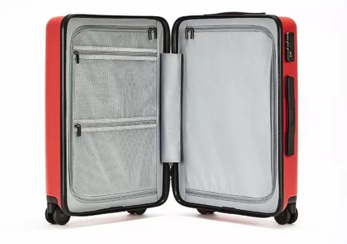 Redmi 20 inch suitcase interior
