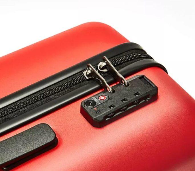 Redmi 20 inch suitcase lock and zipper