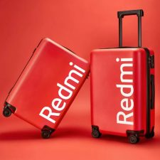 Redmi 20 inch suitcase red