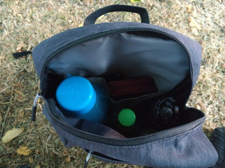 Xiaomi 10 l backpack contents