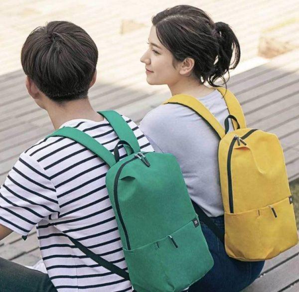 Xiaomi 10 l backpack wearing comfort