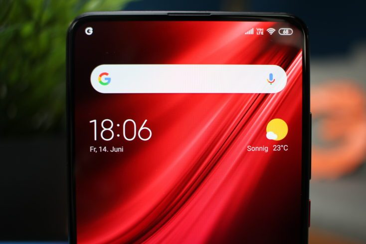 Xiaomi Mi 9T display without notch