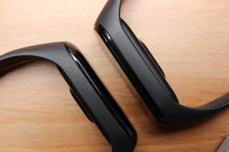 Xiaomi Mi Band 4 vs Mi Band 3 Glass