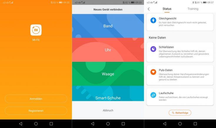 Xiaomi Mi Scale Mi Fit app