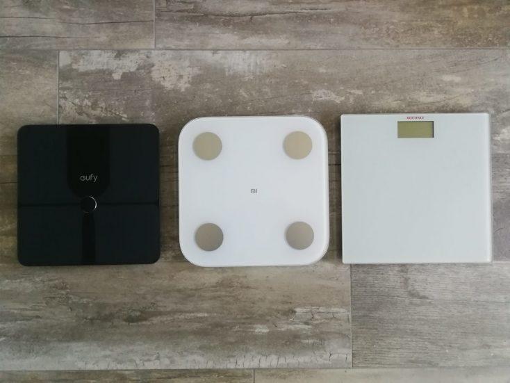 Xiaomi Mi Scale comparison 3 models