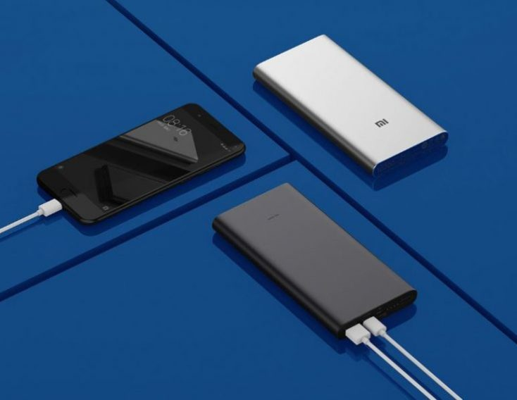 Xiaomi Powerbank 3 Slim charging