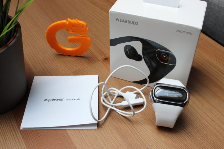 AiPower Wearbuds Scope of Delivery