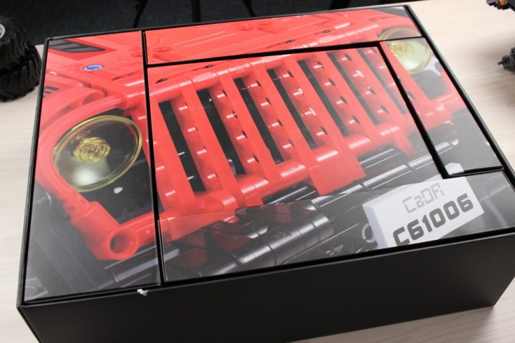 CaDA C61006 Off-Road Truck Packaging
