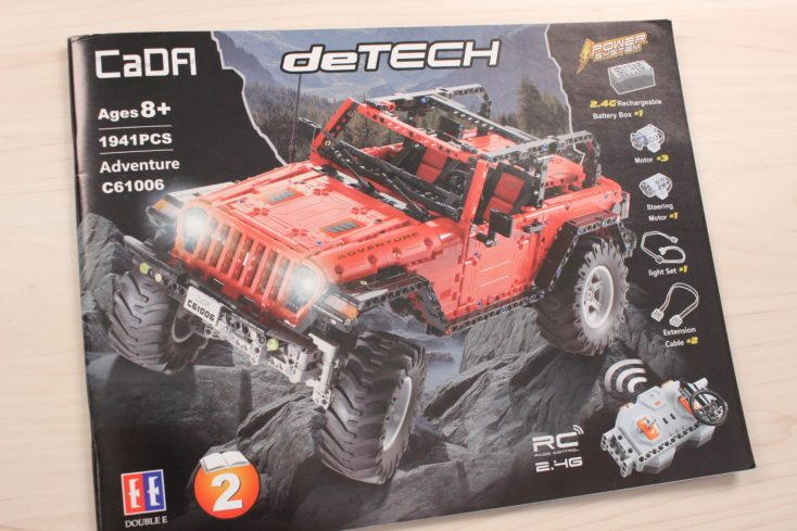 CaDA C61006 Off-Road-Truck manual outside