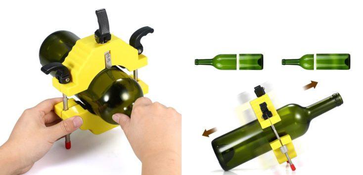 Glass bottle cutter process
