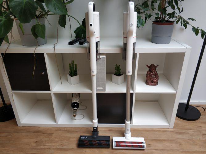 Roidmi NEX Storm Battery Vacuum Cleaner Comparison F8
