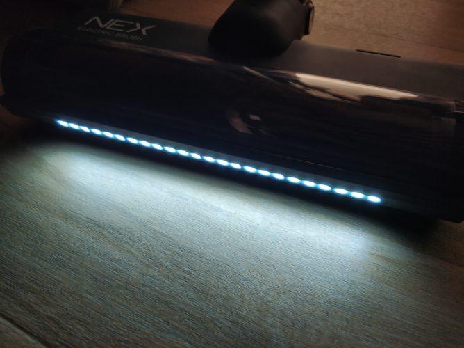 Roidmi NEX Storm Vacuum Cleaner LED Lights Darkness