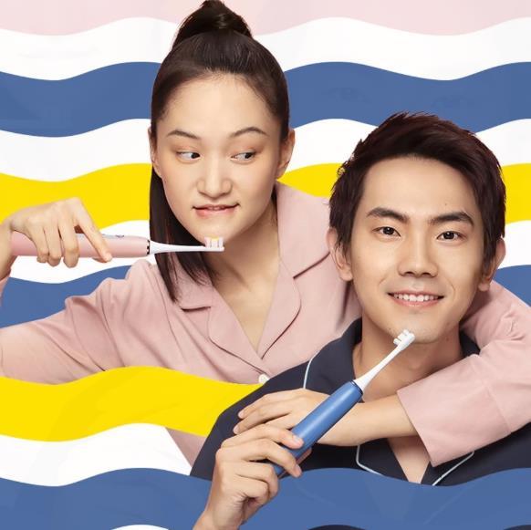 SOOCAS X5 electric toothbrush advertising