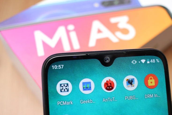 Xiaomi Mi A3 Waterdrop Notch