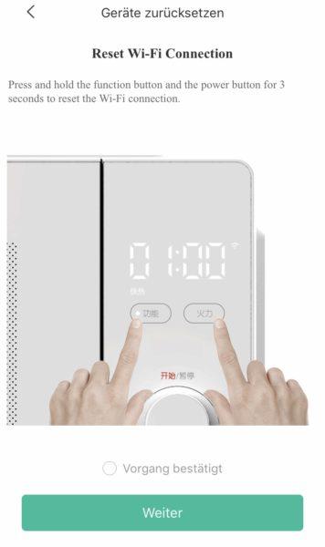 Xiaomi Mijia Microwave Mi Home App