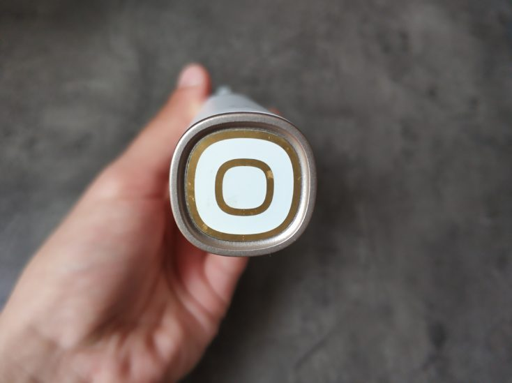 Xiaomi Oclean X toothbrush underside