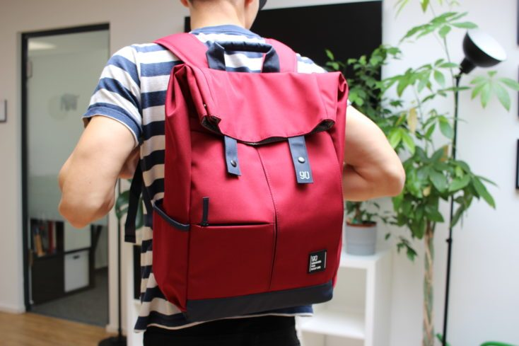 90Fun Backpack red whole