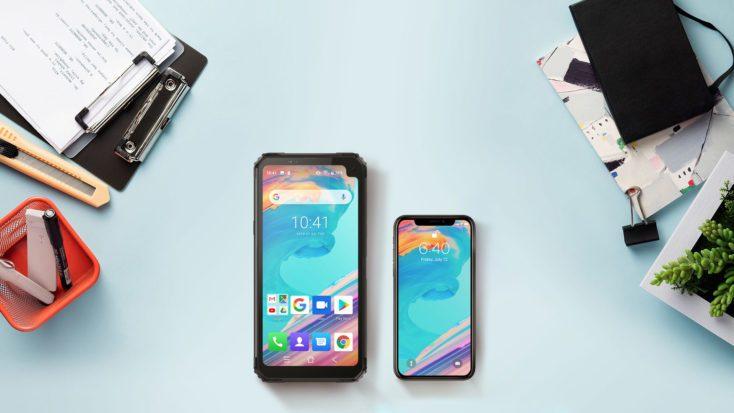 Blackview BV6100 vs iPhone X