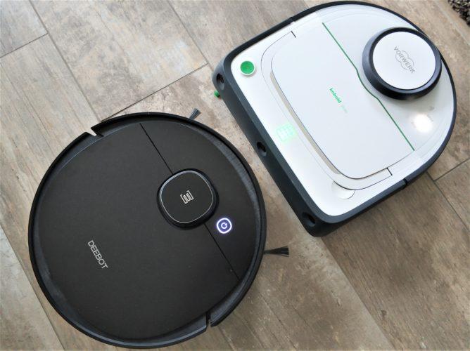 Ecovacs Deebot Ozmo 950 vacuum robot comparison Vorwerk Vr300