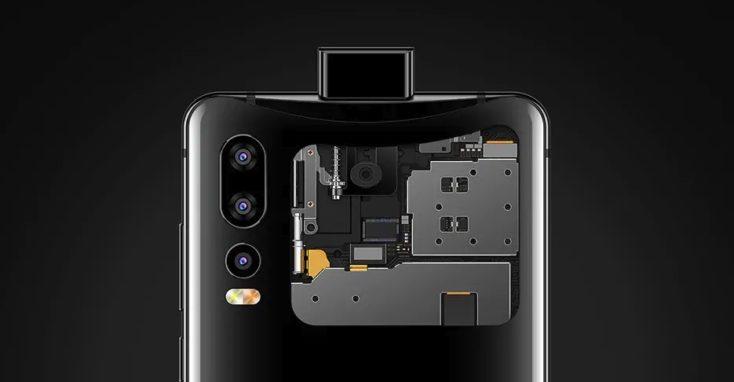 Elephone U2 Smartphone Pop-Up Camera