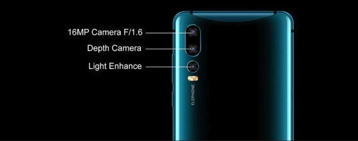 Elephone U2 Smartphone Triple Camera