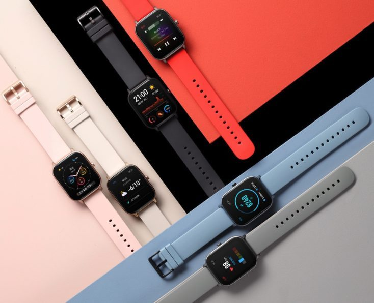 Huami Amazfit Smartwatch GTS Colours