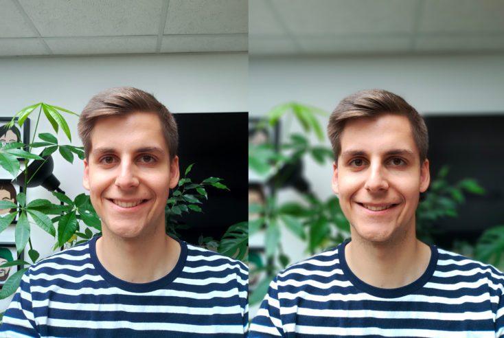 Oppo Realme 3 Pro Front Camera Test Photo Portrait Comparison