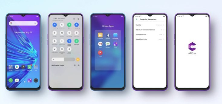Oppo Realme 5 Pro Color OS operating system