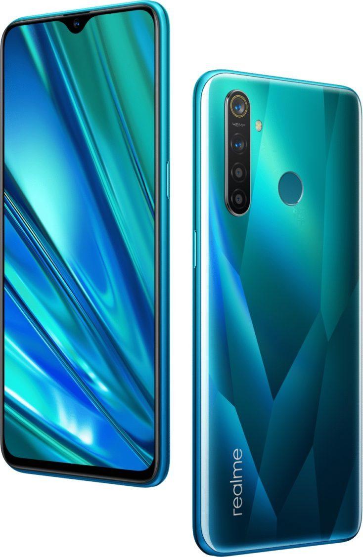Oppo Realme 5 Pro Green Design