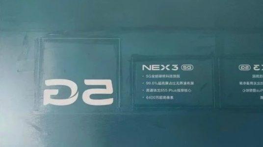 Vivo NEX 3 Smartphone Specs Leak