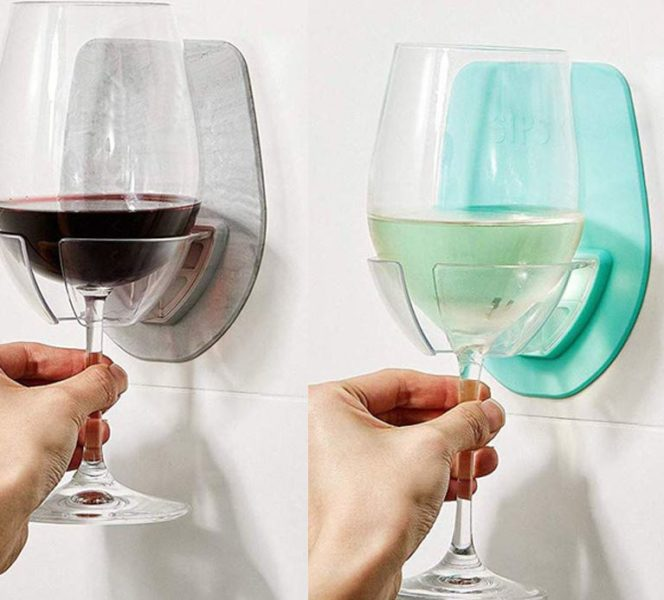 Wine glass holder two colours
