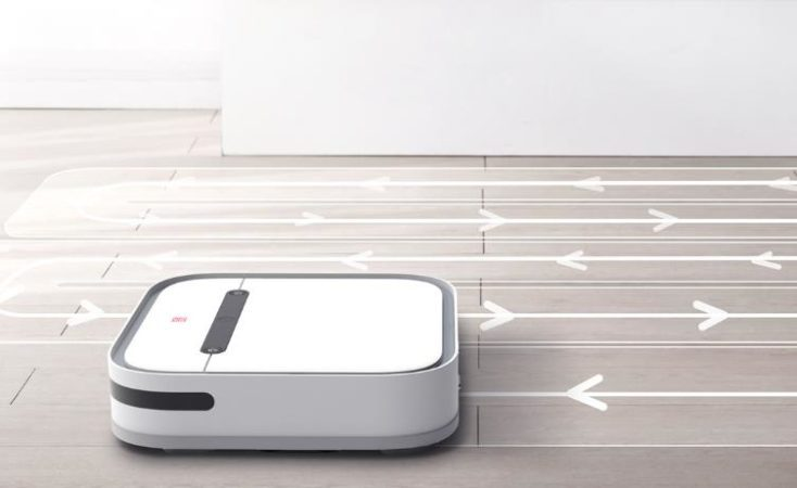 Xiaomi SWDK vacuum robot cleaning mode