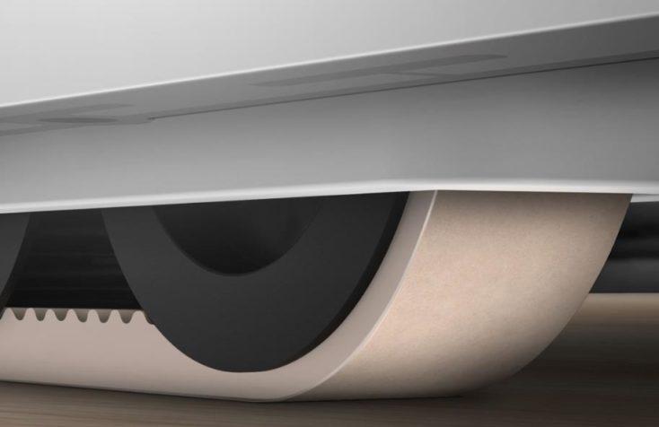 Xiaomi SWDK vacuum robot tracked vehicle
