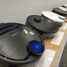 Ecovacs Deebot Ozmo 960 vacuum robot models at IFA