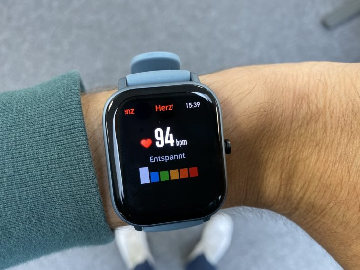 Huami Amazfit GTS Heart Rate Monitor